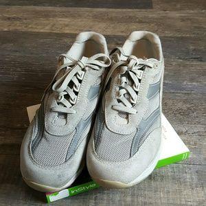SAS gray men tripad comfort soft step shoes
